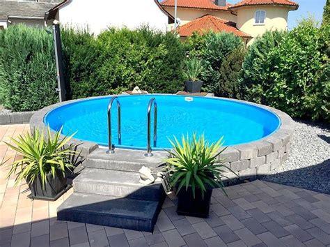 Runder Pool Im Garten by Die 25 Besten Ideen Zu Pool Im Garten Auf
