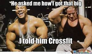 The Funniest CrossFit Memes On The Internet 2016