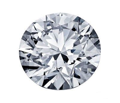 Loose 011ct Natural Mined Round Brilliant Cut Excellent