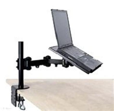 swing arm laptop table amazon com ezm notebook laptop arm extenstion mount