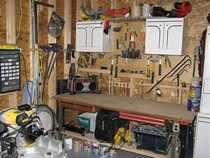 Etabli Fait Maison : peinture garage 2 ieme parti travaux sous sol ~ Premium-room.com Idées de Décoration
