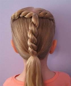 Coiffure Facile Pour Petite Fille : coiffure fille 23 id es de coiffures faciles pour votre petite fille ~ Nature-et-papiers.com Idées de Décoration