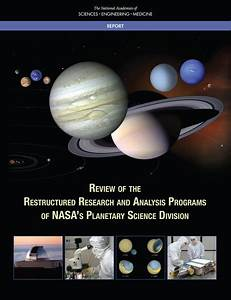 Review of the Restructured Research and Analysis Programs ...