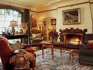 English Tudor Cottage Style Home Interiors Old English