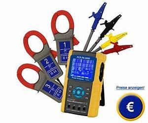 Strom Berechnen 3 Phasen : drei phasen energiemessger t pce pa 8000 pce instruments ~ Themetempest.com Abrechnung