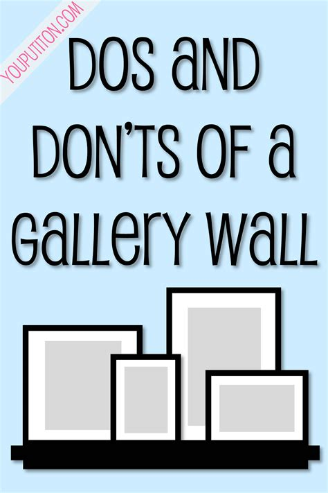 Kitchen Shelves Design Ideas - dos and don t of a gallery wall you put it on