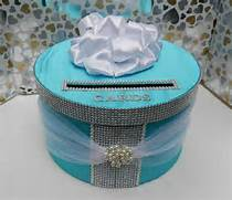 Tiffany Blue Wedding Card Box by 17 Best Images About WEDDING Wishing Wells Card Boxes On Pinterest