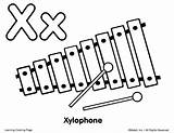 Xylophone Coloring Clipart Drawing Para Draw Ingles Colorear Dibujo Pages Instruments Musical Imagen Colouring Easy Pintar Sketch Template Instrumentos Clipartmag sketch template