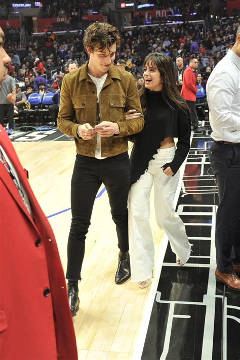 Camila Cabello Shawn Mendes Kissing Clippers
