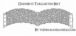 Daenerys Targaryen BELT PATTERN (Qarth Dress) Tutorial and ...