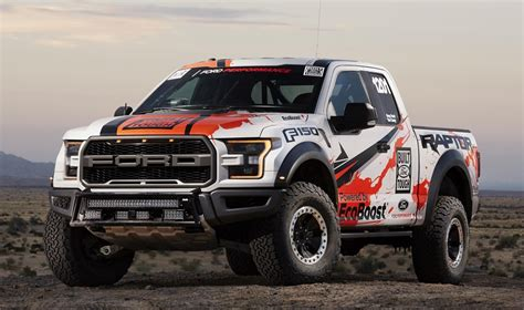 ford raptor rally truck 2017 ford f 150 raptor completes baja 1000 test