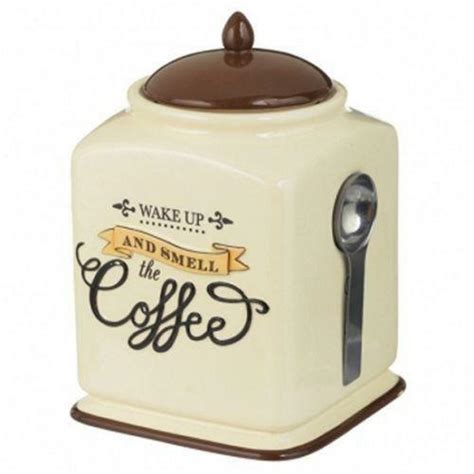 Ceramic Coffee Canister Ebay
