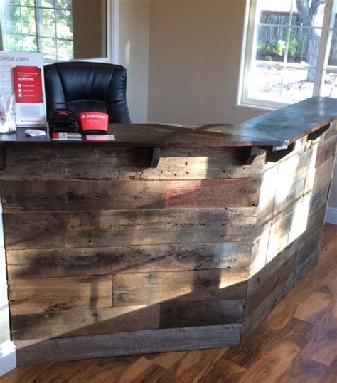 Our agency was founded in 1986 by myself, dr. Reclaimed barn wood front desk, custom built for my State Farm office in Templeton, CA. Andrew ...