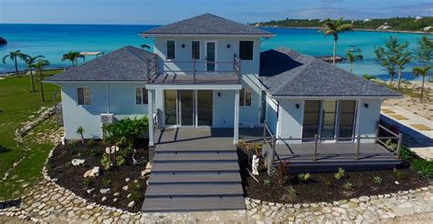 bedroom waterfront home  sale rainbow bay eleuthera