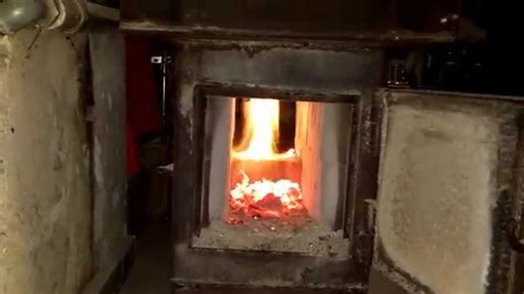 home built wood gasification boiler youtube
