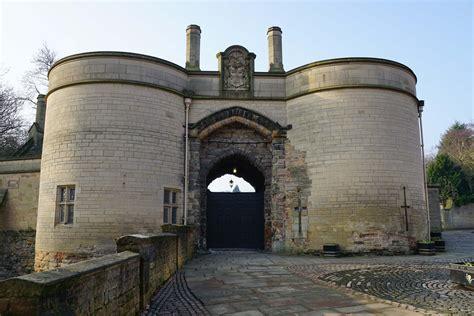 nottingham castle midlands castles forts  battles