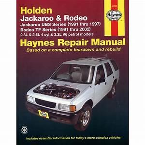 Holden Jackaroo Petrol 1991