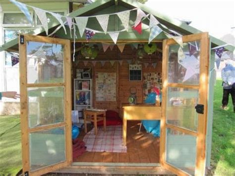 writing shed shedworking sully primary school s inspired