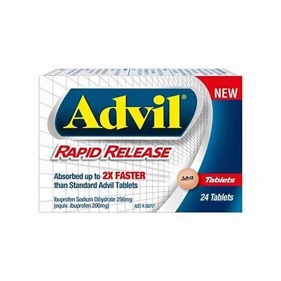 Advil Release Rapid Tablets Pack