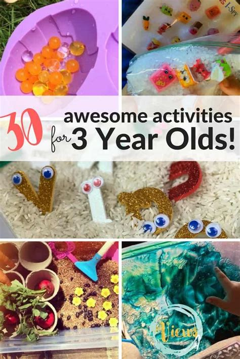 60 awesome activities for 1 year olds tested and loved 668 | 30 activities for 3 year olds