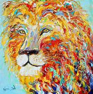 Abstract Animal Paintings