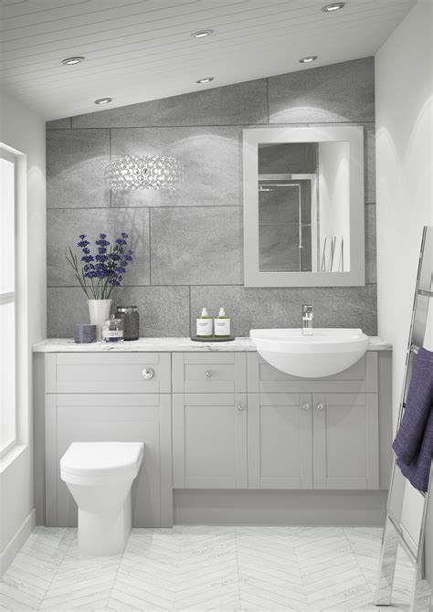 atlanta bathrooms shaker pearl grey