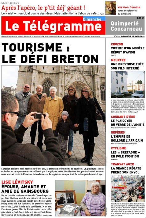 foto de Journal Télégramme (France) Les Unes des journaux de