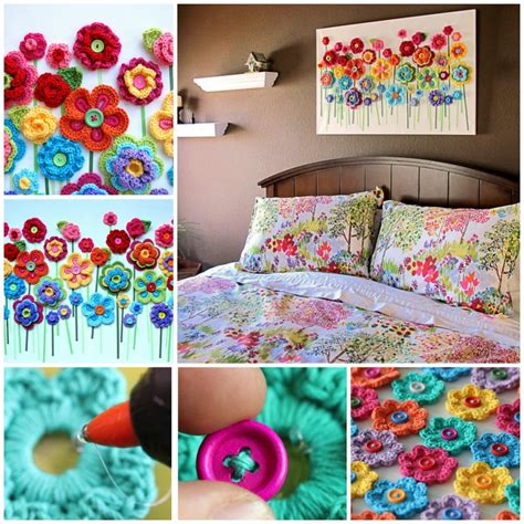 easy    extremely creative button crafts tutorials