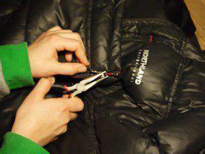reißverschluss einfach reparieren rei 223 verschluss outdoorkleidung reparieren kinderoutdoor outdoor erlebnisse mit der ganzen