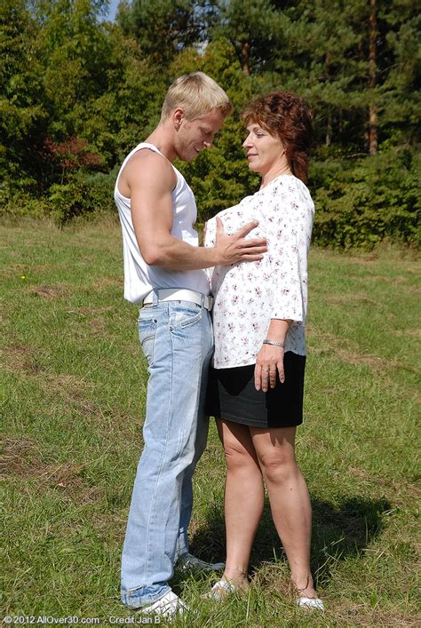 redhead milf misti fucking hard at the outdoor photos misti and jan moms archive