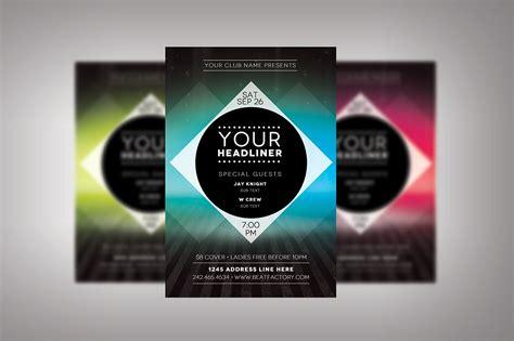 20671 resume free templates futuristic club flyer flyer templates creative market