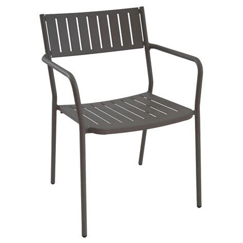 emu 147 bridge stacking armchair indoor outdoor steel