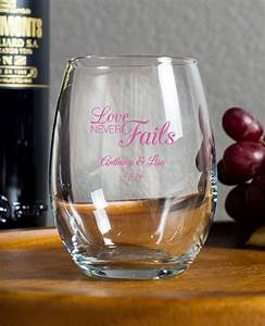 9 oz wine glass favors With wine glass wedding favors