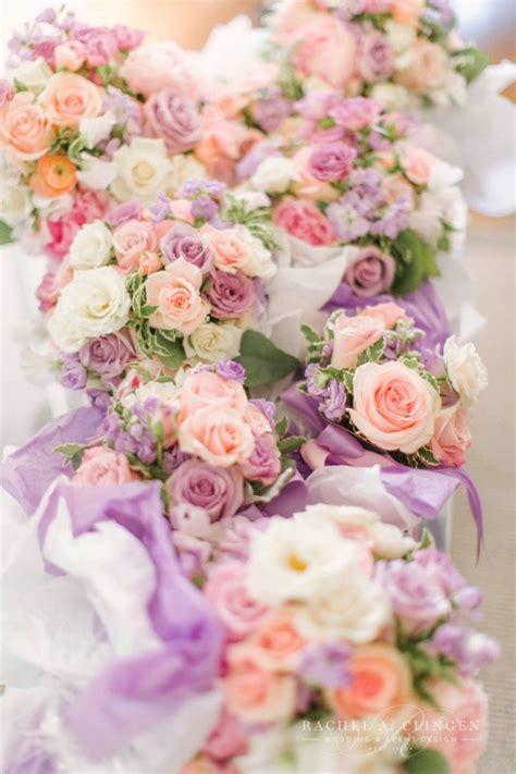 peach lavender wedding flowers toronto wedding decor
