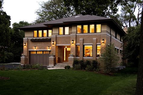 contemporary prairie style house plans small one prairie style house studio frank lloyd wright