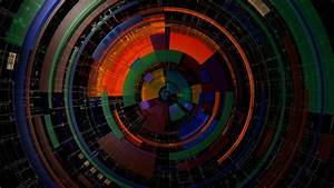 Circle, Abstract, Symmetry, Colorful, Digital, Art, Lines