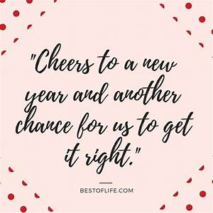 New Year's ... Memorable Toast Quotes