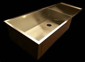 undermount kitchen sinks with drainboards zero radius drainboard single bowl kitchen sink with