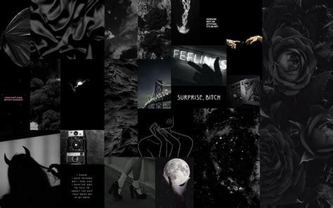 wallpaper balck aesthetic desktop wallpaper black