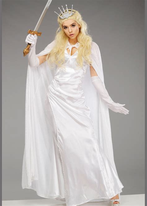 womens narnia  white witch style costume