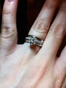 show me your stacked wedding bands weddingbee With stacked wedding rings weddingbee