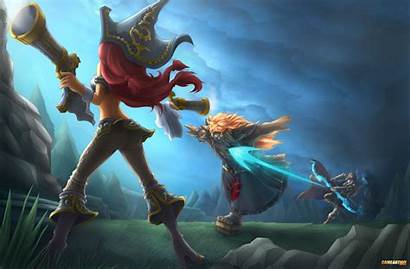 Fortune Ashe Miss Udyr Legends League Ionia