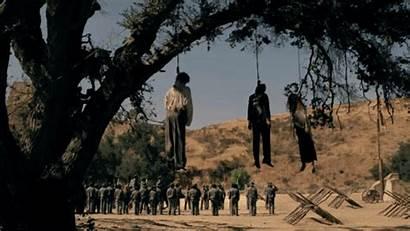 Hanging Scene Westworld Originally Popsugar Featured Trailer
