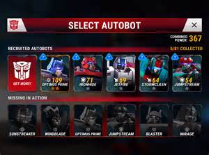 Earth Wars Transformers