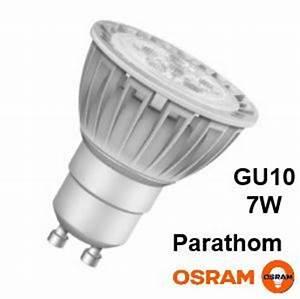 Ampoule Led Dimmable Gu10 : ampoule led gu10 4000k dimmable 7 5w 50w parathom osram ~ Edinachiropracticcenter.com Idées de Décoration