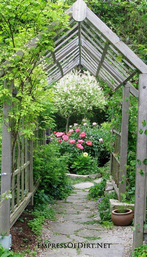 arbor trellis obelisk ideas  home gardens empress  dirt
