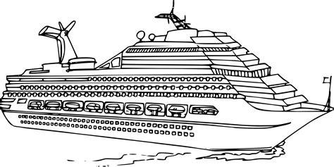 Dessin Bateau Mer by Coloriage Bateau De Luxe 224 Imprimer Sur Coloriages Info