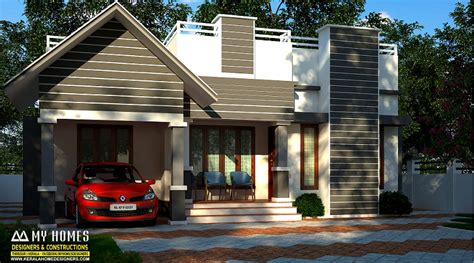 square feet single floor contemporary home design