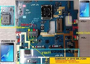 Samsung J1 J120 Power Button Solution Jumper Ways