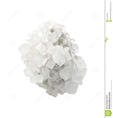 les en cristal de sel cristal de sel min 233 ral images stock image 17271734